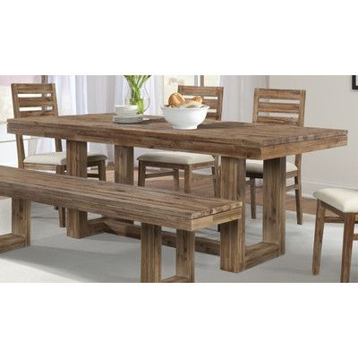 Cresent Furniture Waverly 6 Piece Dining Set Dining Farmhouse
