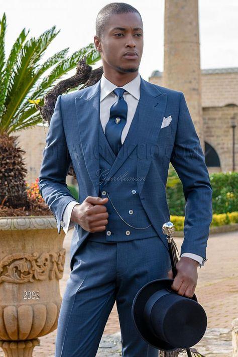 Abiti Da Cerimonia Mattina.Vestito Tight Moda Da Cerimonia Principe Di Galles Blu Abiti