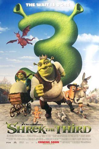 Shrek The Third Srek 3 2007 Peliculas De Animacion Personajes De Shrek Shrek Tercero