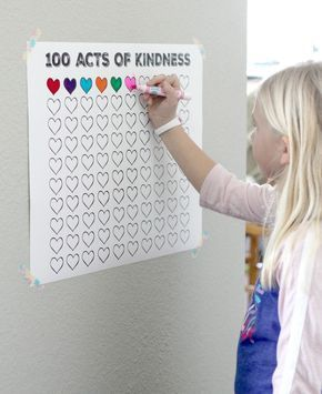 Kids and parenting - 100 Acts of Kindness Free Printable Countdown Poster Toddler Activities, Learning Activities, Kids Learning, Health Activities, Kids Summer Activities, Activities For 6 Year Olds, Teaching Babies, Classroom Organization, Classroom Management