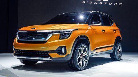 Kia Signature Concept Hints At New Global Compact Suv Oil Gas News Small Suv Kia New Suv