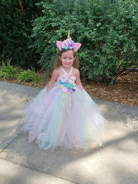 2b685f91e0 Unicorn Tutu Dress