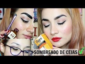 Diy Cejas Con Henna Perfectas Hasta Por 7 Días Paso A Paso Muy Fácil Meligoblue Youtube Como Pintar Las Cejas Sombreado De Cejas Cejas
