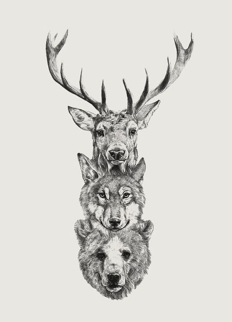 Tattoo Wolf Indian Native Americans Life 38 Ideas For 2019 Cute Animal Tattoos Animal Tattoos Bear Tattoo Designs