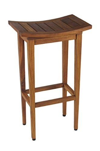 The Original Maluku 30 Tall Teak Bar Stool Patio Bar Stools