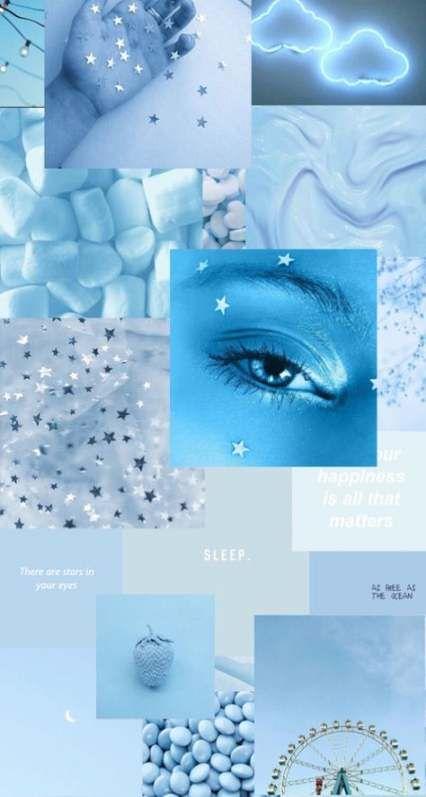 53 Ideas Wallpaper Iphone Dark Blue Lights Blue Wallpaper Iphone Blue Aesthetic Light Blue Aesthetic Cool wallpapers blue aesthetic