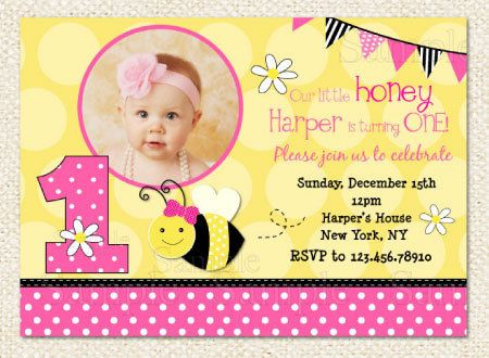 Pink bumble bee birthday invitation bumble bee 1st birthday pink bumble bee birthday invitation bumble bee 1st birthday invitation printable via etsy fiestas pinterest arreglos de abeja y baby showers filmwisefo Images