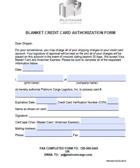 Credit Cards Authorization Form Template 39 Ready To Use Templates Template Sumo Credit Card Cards Templates
