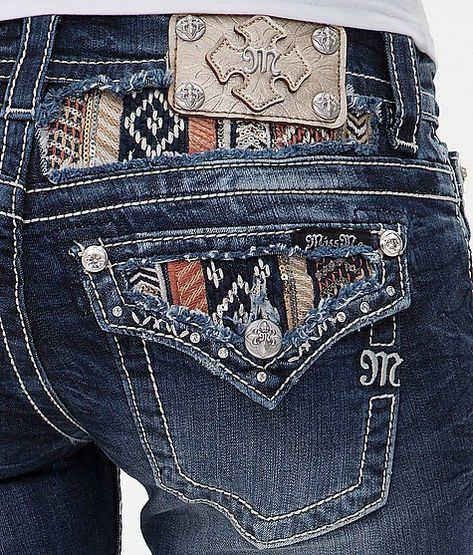 Dear Stitch Fix Stylist: Love the detailed pockets and such on jeans. Miss Me Skinny Stretch Jean - Women's Jeans