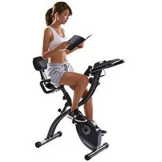 Exerciseandfitnesspro Posted To Instagram Maxkare Exercise Bike Stationary Indoor Workout Cycling Bike With Arm Resistance Bands Magnetic Folding Recumbent Bi