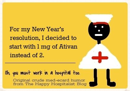 Happy New Years! Don't be that overly-stressed nursing