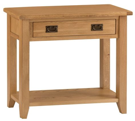 Rustic Oak Hall Table Chilternoak The First Items Of Furniture A Guest Will See As They Enter Your Home Hallway Is Hugely Important In Terms