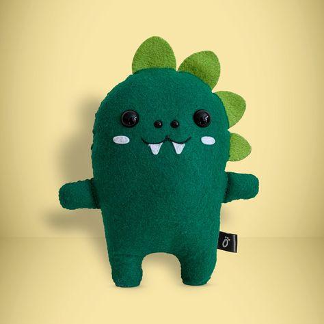 Dinosaur - Make Your Own Felt Kit - Full Dinosaur Sewing Kit