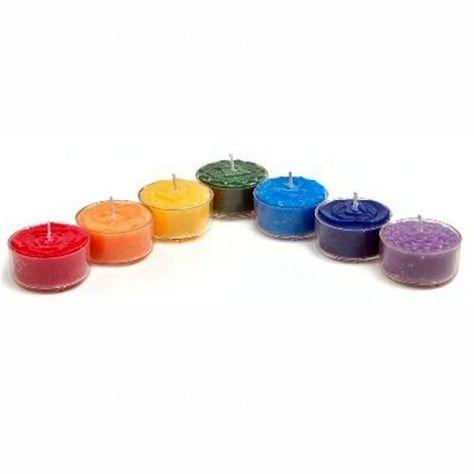 Chakra Teelichtkerzen Set Chakra Produkte Cleopatra S Duft