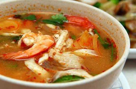 Resep Membuat Tom Yam Enak Sederhana Masakan Resep Masakan Resep Sup