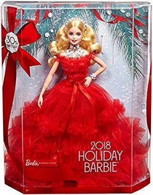 Barbie Noel 2018 Barbie   Noel 30Eme Anniversaire #2 Poupée Mannequin, FRN69