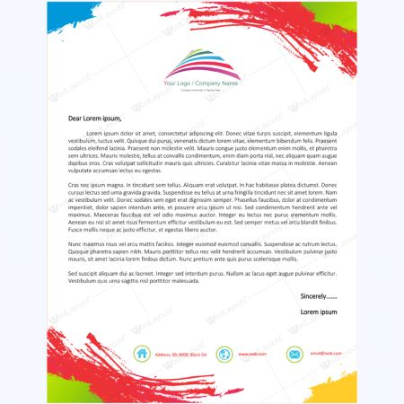 Best Letterhead Templates Images On   Role Models
