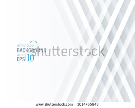 Abstract Geometric White Gray Background Banner Design With