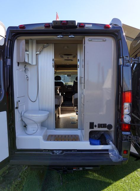 2019 Winnebago Travato Dodge Ram Promaster camper conversion van life bathroom ideas life ideas life ideas beds life ideas tips life tips Conversion Van, Van Conversion Interior, Sprinter Van Conversion, Van Conversion With Bathroom, Camper Van Conversions, Ford Transit Conversion, Van Conversions Ideas, Van Conversion Bathroom, Camper Life