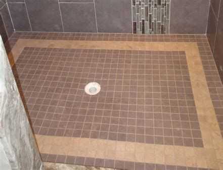 How To Build A Shower Pan On A Concrete Floor Building A Shower