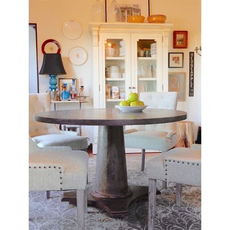 Angelo Home Ariane Dining Table Grey New House