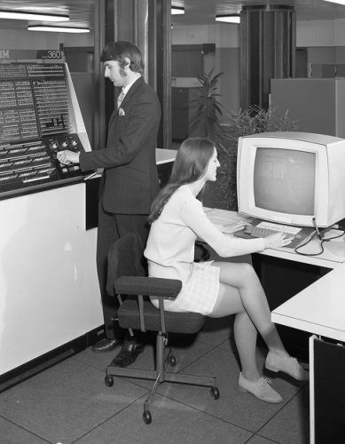 Sexist Computer Adverts In The 1960s, 1970s & 1980s - Flashbak