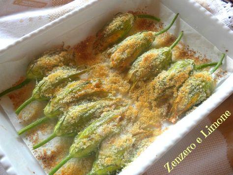 I fiori di zucca ripieni sono un piatto classico del periodo estivo; molto appetitosi possono essere serviti come contorno, ma anche come antipasto.