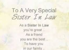 Image result for sister in law quotes | Sister in law quotes ...