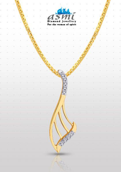 10 best new year sparkle with asmi diamond jewellery images on each twirl in this asmi diamond pendant spells a unique graceful aura for your neck aloadofball Choice Image