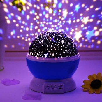 Led Auto Rotating Starry Projection Lamp Night Light Night Light Projector Star Night Light Led Lighting Bedroom