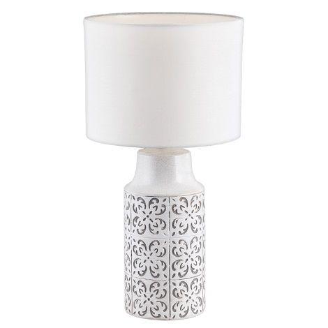 Rabalux 4308 Stolna Lampa Agnes 1xe27 60w 230v Seda House Of Hampton Lamp The Hamptons