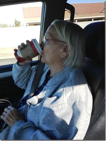 grandma loves starbucks - Google Search