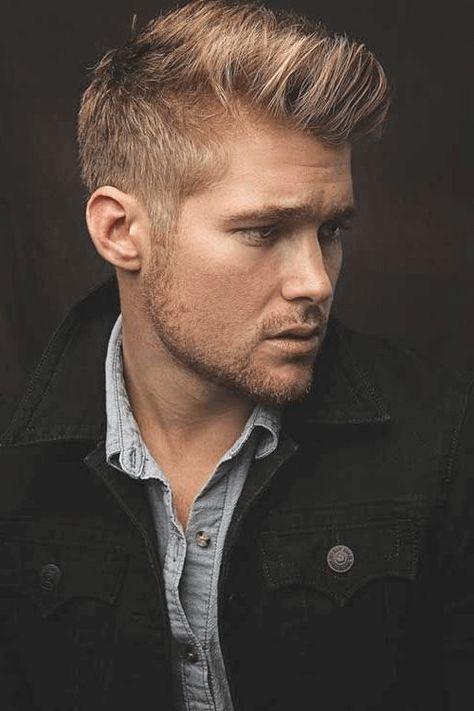 Frisuren Manner Undercut Ohne Ubergang Blonde Haarschnitte