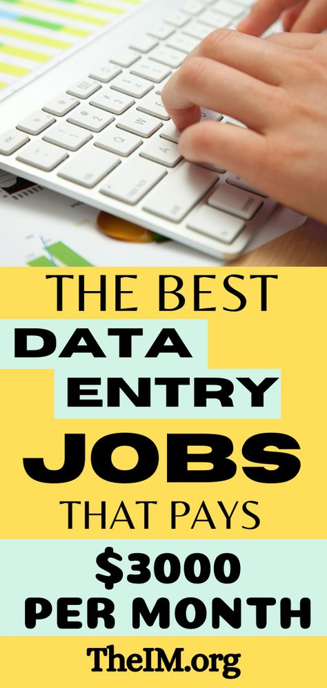 10 Awesome Ways To earn Money From Data Entry Jobs In 2020!