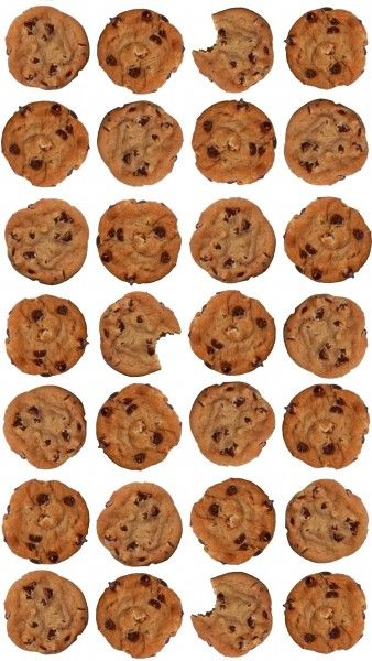 Free Chocolate Chip Cookie Iphone Wallpaper At Www Happyhourprojects Com How To Make Your Own Using The Hp Spr Cookies Chocolate Chip Cookies Creative People