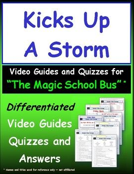 Differentiated Worksheet, Quiz, Ans for Magic School Bus ...