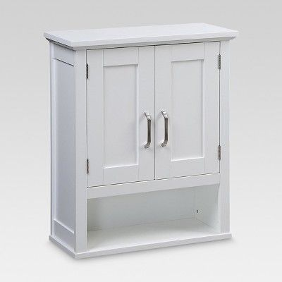 Wood Wall Cabinet White Threshold Target Wall Cabinet Bathroom Cabinets Diy Bathroom Storage Cabinet