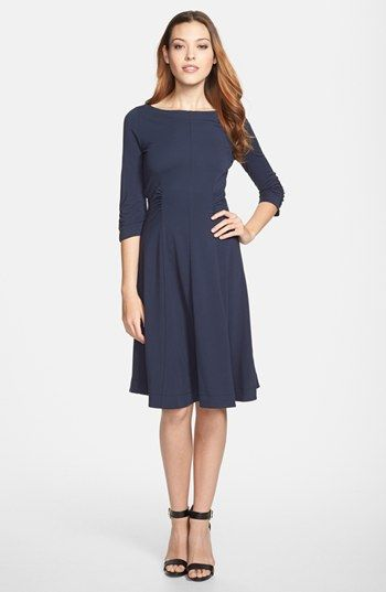 Weekend Max Mara Jean Ruched Jersey Dress Professional Fashion Chic Office Style Commandress Clothes Pinterest Nordstrom And