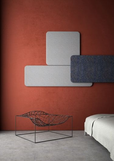 Layer acoustic panel