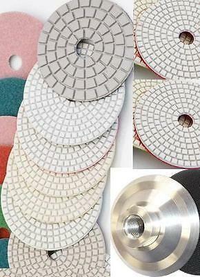 5 Inch 7 Inch Diamond Polishing Pad 18 Piece Concrete Granite Glass Marble stone