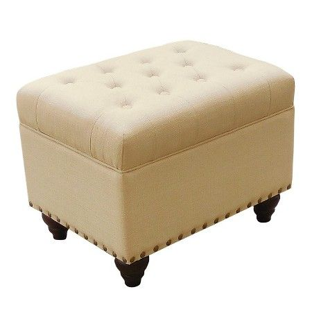Danbury Tufted Storage Ottoman With Nailheads Threshold Target Tufted Storage Ottoman Storage Ottoman Storage Ottoman Bench