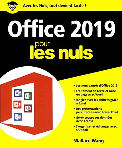 Telecharger Office 2019 Pour Les Nuls Grand Format Pdf Ebook En Ligne De Wallace Wang Telecharger Votre Fichier Ebook Maintenant