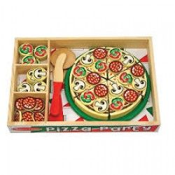If your child has a play kitchen or shop or they just set up shop from your kitchen table, it's time to purchase some nice play food. I can't recommend the Melissa and Doug Play Pizza enough. Sturdy and durable, it is made from wood and the pieces stick together with Velcro. The only problem is, it might make you feel hungry! Nationwide delivery only €2