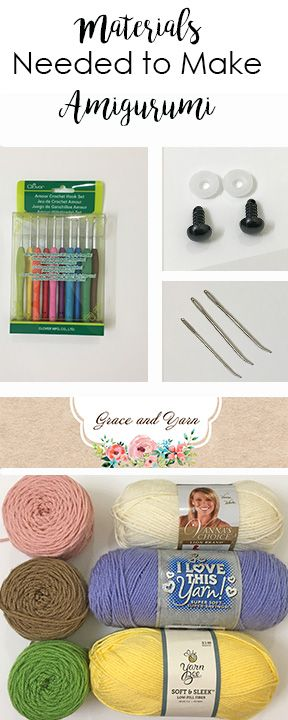 Materials Needed To Make Amigurumi Diy Crochet And Knitting Amigurumi Diy Crochet