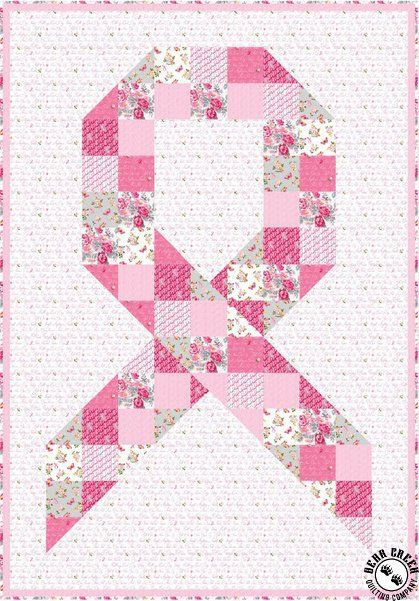 Pin By Elisangela Reis Ramos On Outubro Rosa In 2020 Quilt Patterns Quilt Patterns Free Ribbon Quilt