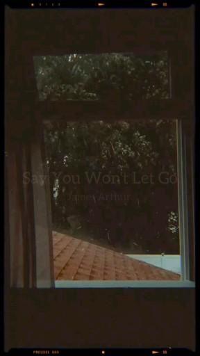 Say you wont let go - James Arthur (tradução)