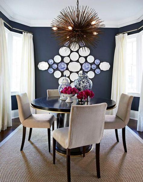 20 ideas para decorar paredes con platos | Decoración de ...