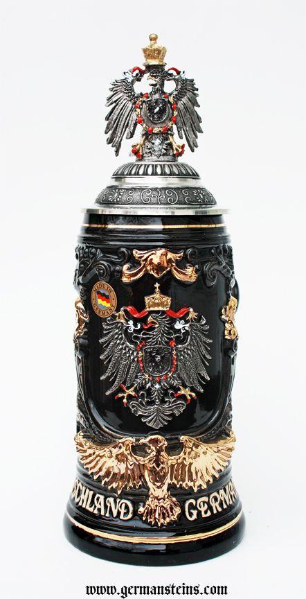 Deutschland Germany Eagle Beer Stein