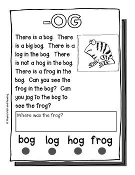 30 (Long and Short Vowel CVC and CVCe) Passages (With
