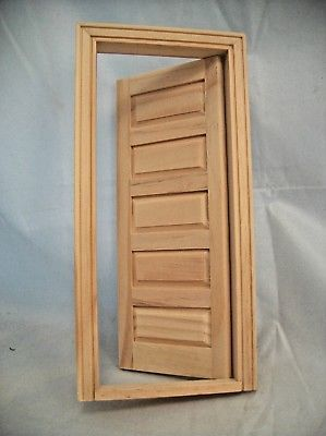 Details About Door 5 Panel Interior Dollhouse Miniature Wooden 6021 1 12 Scale Houseworks Interior Doors For Sale Diy Door Wooden Front Doors